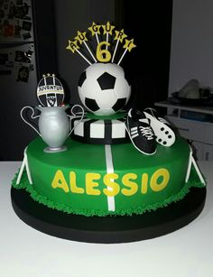 Torta calcio Juventus cake