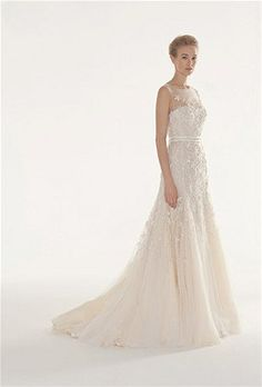 So pretty! Gown by Langner Couture