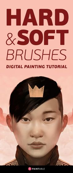 Digital Painting Tutorial: How to Fix 'Blurry' Digital Paintings with Hard and Soft Brushes