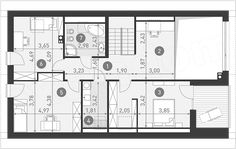 Projekt domu Dostępny 6 142,7 m2 - koszt budowy - EXTRADOM House Plans, New Homes, Floor Plans, How To Plan, House Floor Plans, Home Floor Plans, Home Plans