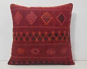 24x24 large floor pillows DECOLIC kissenbezug 60x60 rug designs the pillow shop kissen kaufen throws for sofas red 13948 kilim pillow 60x60