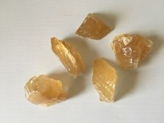 5 AA Arizona Honey Calcite Large on Mercari Honey Calcite, Cool Items, Crystal Healing, Arizona, Snack Recipes, Chips, Gemstones, Crystals, Cool Stuff