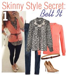 Dress Yourself Thin: 3 Skinny Styling Secrets to Look 10 Pounds Lighter! via History & High Heels