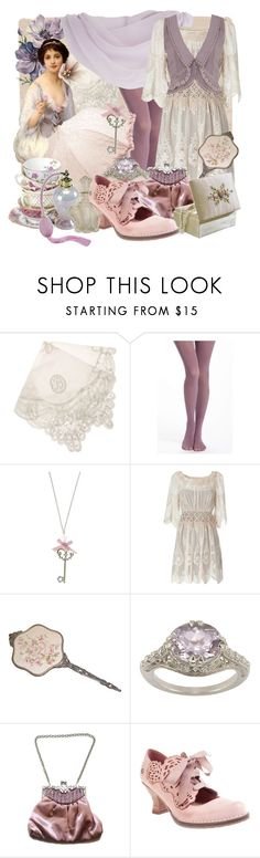 """""""April Lilacs"""" by larkspurlane ❤ liked on Polyvore featuring Balcony and Bed, Pure + Good, TALLY WEiJL, Etiquette, Alberta Ferretti, Apples of Gold, Miss Selfridge and dollykei"""