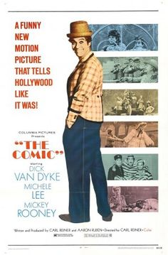 The Comic is a 1969 comedy film co-written, co-produced and directed by Carl Reiner. It stars Dick Van Dyke as Billy Bright – the original title of the film – and Michele Lee as Bright's love interest, Reiner himself and Mickey Rooney as Bright's friend and work colleagues. Reiner wrote the screenplay with Aaron Ruben, which was inspired by the end of silent film era, and in part, by the life of silent film superstar Buster Keaton.