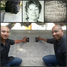Sep 26, 2013. While on training in Washington DC, Deputies Gomez and Moore had the opportunity to visit the National Law Enforcement Memorial. Coincidentally, that day was the 24th anniversary of LASD Dep Rosemary Irys May's EOW.  (Photo Credit: P. Gomez, T. Moore)  http://www.odmp.org/officer/8731-deputy-sheriff-rosemary-iris-may  http://www.nleomf.org/memorial/