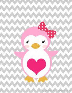 Nursery Art with Grey Chevron Background- FREE PRINTABLES! Backgrounds Free, Wallpaper Backgrounds, Iphone Wallpapers, Girl Nursery, Nursery Art, Printable Art, Free Printables, Penguin Nursery, Picture Story