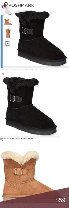 Brand new style & co boots booties black Winter Fashion Casual, Casual Winter Outfits, Black Work Boots, Winter Leather Jackets, Beige Heels, Bootie Boots, Rain Boots, Ankle Boots, Boating Outfit