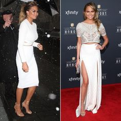 Chrissy Teigen Can Rock Winter White Like No Other  #InStyle