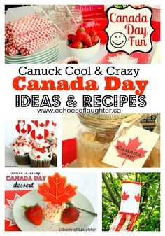 Canada Day Party Guide - Ideas & Recipes