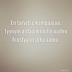 #quote #mammas #lapset #kampaaja #uusityyli