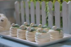 The one thing I forgot to make Easter 2011: little merengue nests!