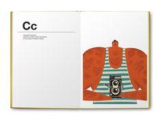A Fun Book That Showcases The Alphabet With A Twist - DesignTAXI.com