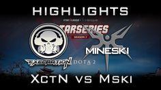 Execration vs Mineski Starladder i-League SEA 2017 Highlights Dota 2