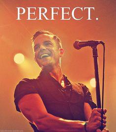 perfect Brandon Flowers