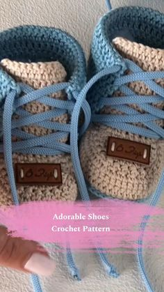 Crochet Baby Boots Pattern, Knit Baby Shoes, Baby Shoes Pattern, Crochet Baby Clothes, Crochet Patterns, Shoe Pattern, Crochet For Boys, Boy Crochet, Note