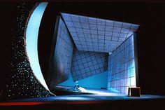 The Magic Flute. Teatro Real. Scenic design by Marco Arturo Marelli. 2000