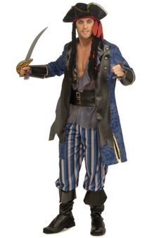 Rubies Costume Pirate Captain Costume Standard Standard *** Want additional info? Click on the image.