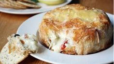 Savory Baked Brie with Sundried Tomatoes and Capers recipe - from Tablespoon!
