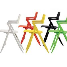 Dolly Folding Chair: Antonio Citterio with Oliver Low  Kartell, Italy