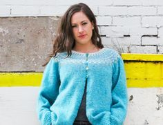 The Top Down Icelandic Sweater Kit - None