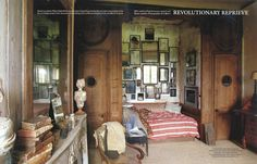 """Le Château in """"World of Interiors"""" 2004 July issue- 1 