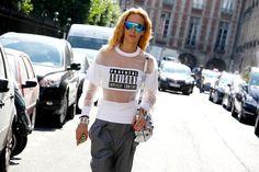 Paris Fashion Week - MEN'S SS '15 #pfw #fashionweek #Streetstyle