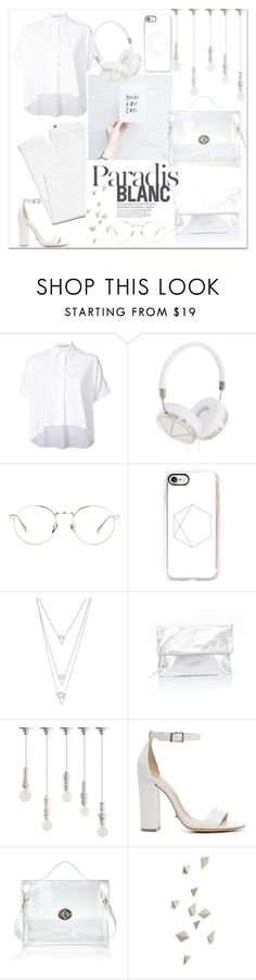 """""""Insider vol. 03"""" by loreense ❤ liked on Polyvore featuring Alice + Olivia, Frends, Linda Farrow, Casetify, BERRICLE, Victoria's Secret, Seletti, Schutz and loreensedaily"""