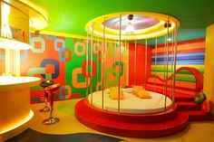 Austin Powers room by annalyn, via Flickr