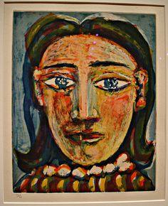 Picasso - Head of a Woman No. 1. Portrait of Dora Maar, 1939