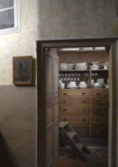 The Still room, Kitchen at Erddig, wrexham, Wales. National trust images