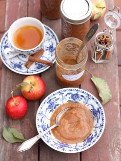 Super Easy Slow Cooker Spiced Applesauce (with no added sugar!) from completelydelicious.com