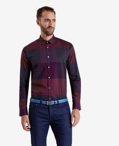 Large checked shirt #TedBaker #Giftresponsibly #GlamGifting