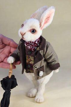 White Rabbit By Irina Jefimova - Bear Pile