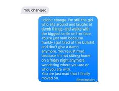 This girl is soo me related. Hurt Quotes, Sad Love Quotes, Real Talk Quotes, Mood Quotes, Crush Quotes, Life Quotes, Relationship Texts, Relationships, Ex Best Friend