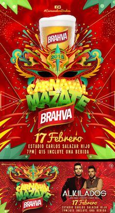 Carnaval de Mazate Brahva 2015 on Behance