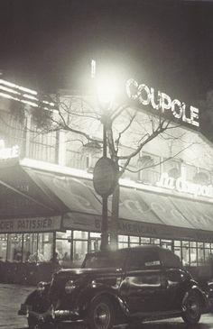 Le café La Coupole à l'époque de son inauguration vers 1927-1928, Pari