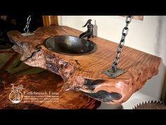 Rustic Vanities - rustic vanity - bathroom vanity   Littlebranch Farm