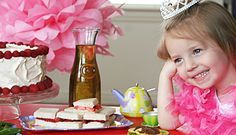 Cute tea party luncheon ideas for the little girls in your life