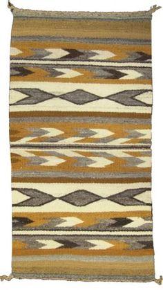 Navajo Rug/Weaving for auction. Small homespun table/altar rug with good color. Native American Blanket, Native American Rugs, American Indians, Navajo Weaving, Navajo Rugs, Finger Weaving, Indian Rugs, Urban, Woven Rug