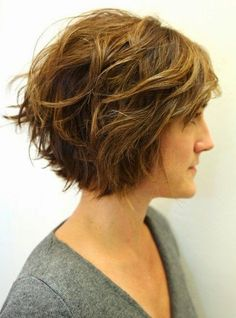 Wavy Bob Hairstyles Cool 12 Stylish Bob Hairstyles For Wavy Hair  Pinterest  Wavy Bob