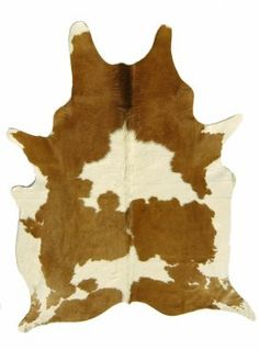 cow hide rug.