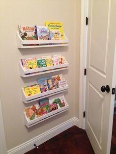 Wall Bookshelves Kids Mounted Book Shelves Building For