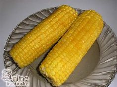 Vařená kukuřice