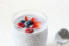 36 Chia Seed Pudding Recipes That Taste Like Dessert Vegan Triple Berry Chia Seed Pudding Whole Foods, Whole Food Recipes, Vegan Recipes, Cooking Recipes, Chia Puding, Chia Recipe, Berry, Pudding Recipes, Pudding Ideas