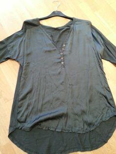 Camisa raso botones
