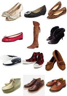 男も女もご存じない、自分と靴の好バランス