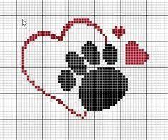 Cross Stitch Heart, Cross Stitch Cards, Cross Stitch Animals, Cross Stitching, Cross Stitch Embroidery, Embroidery Patterns, Cross Stitch Designs, Cross Stitch Patterns, Graph Crochet