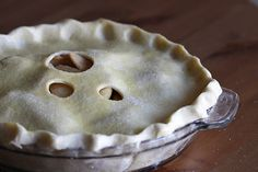Recipe for Austin's favorite dessert: apple pie, with lots of butter and not too much sugar, just the way he likes it! See, there's a secret to making the world's best apple pie ... love. (Click through for the most love-r-ly recipe ever!)