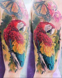 Realism Nature Tattoo by Robert Zyla - http://worldtattoosgallery.com/realism-nature-tattoo-by-robert-zyla/